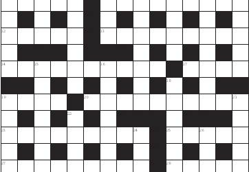 Anglo-American Crossword Number 81, by Pamela Wylder
