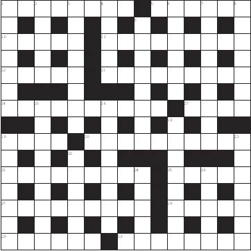 243 Crossword Answers