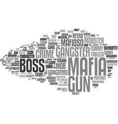 Mafia, Cosa Nostra, Camorra, 'Ndrangheta and Mammasantissima