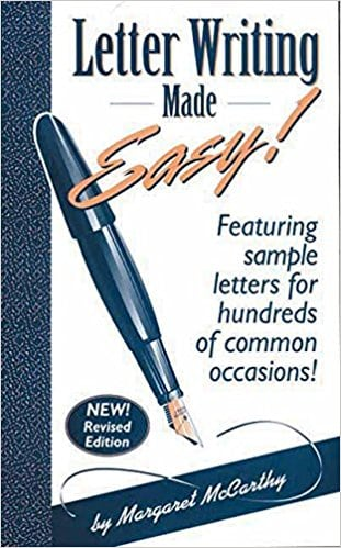 Letter Writing Made Easy!